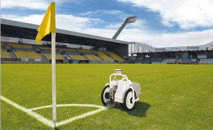 Automatic sports line marking