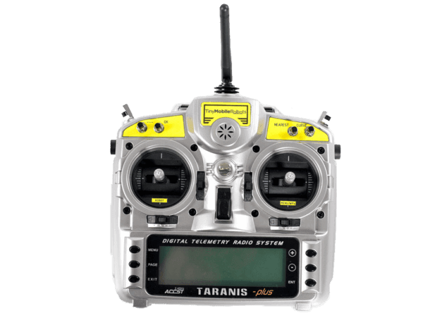 Long range remote control for autonomous premarking surveyor robot