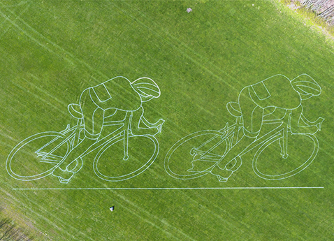 Tour de Yorkshire land art