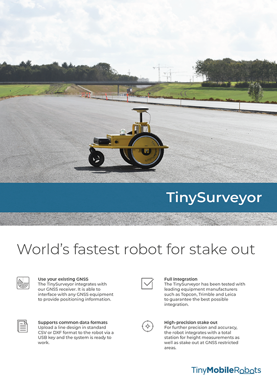 TinySurveyor robot flyer