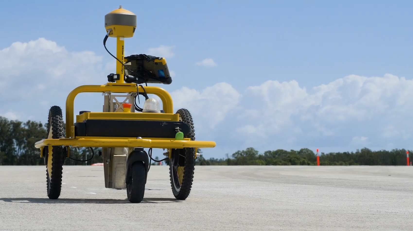 Land surveyors complete pre-marking 5 times faster at Brisbane Airport