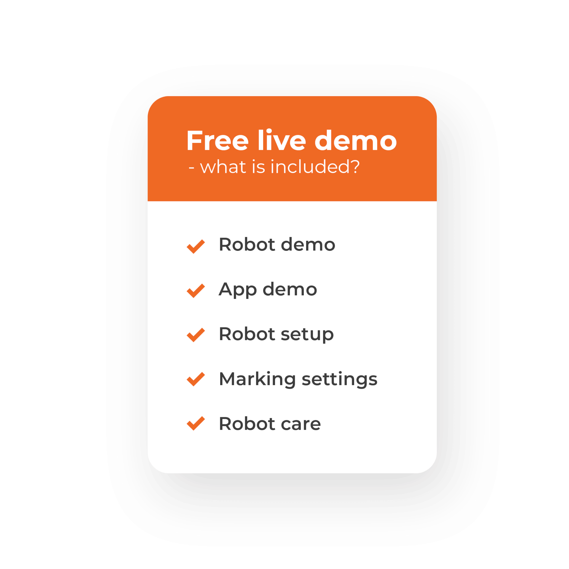 Included in free demo