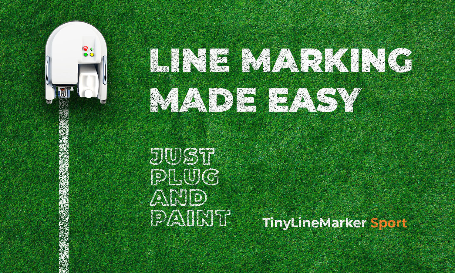 Sports Line Marking Plug And Paint